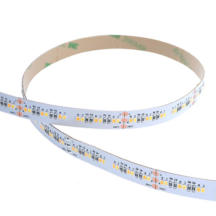 SMD2216 dynamic white led strip light 72 pcs per foot