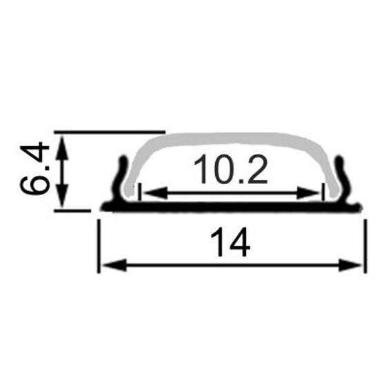 bendable LED aluminum channel