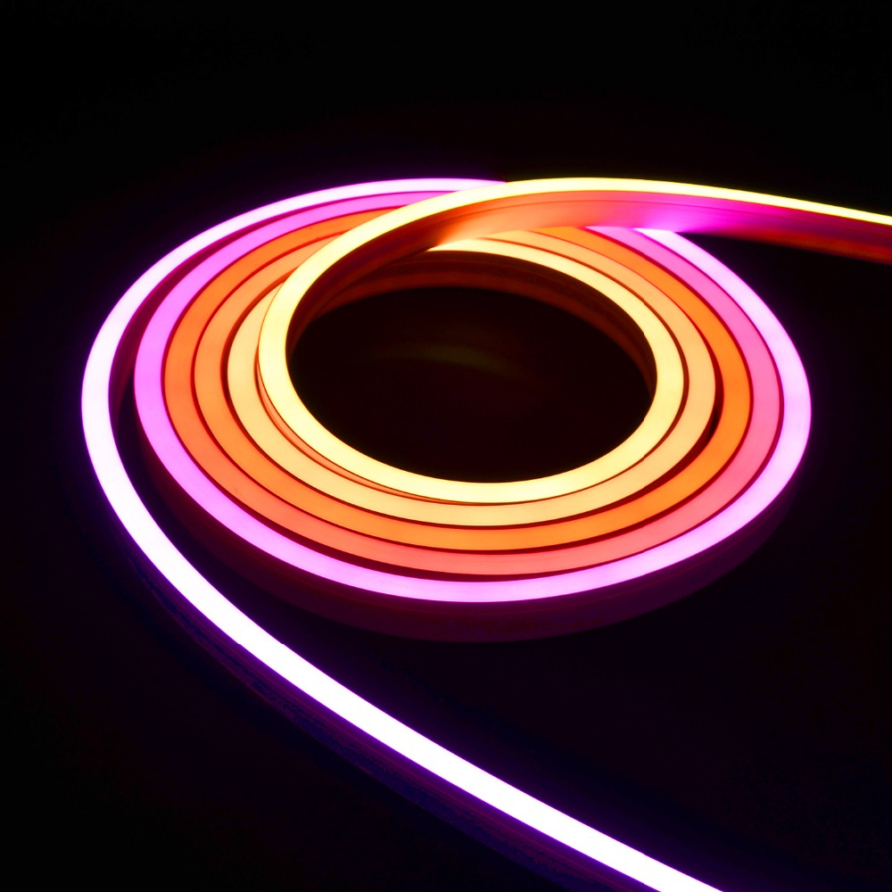 square silicone LED neon strip light